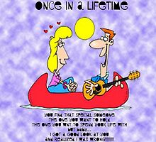 Once in a lifetime by wackyways