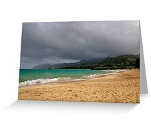 Oahu One Greeting Card
