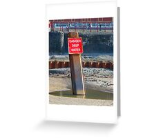 Deep Water Greeting Card