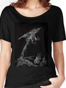 0001 - Brush and Ink - The World Women's Relaxed Fit T-Shirt