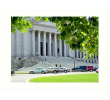 Legislative Building Art Print