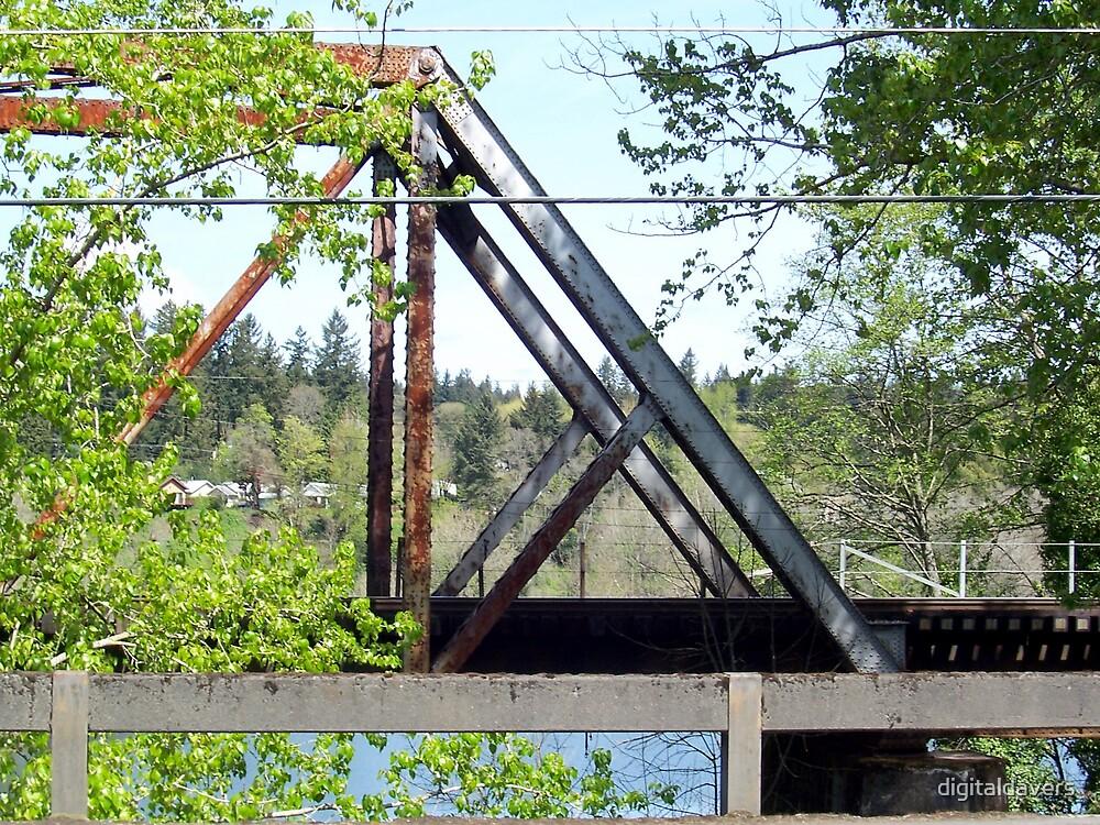 Old Railroad Bridge by digitaldavers