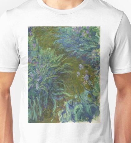 Claude Monet - Irises Unisex T-Shirt