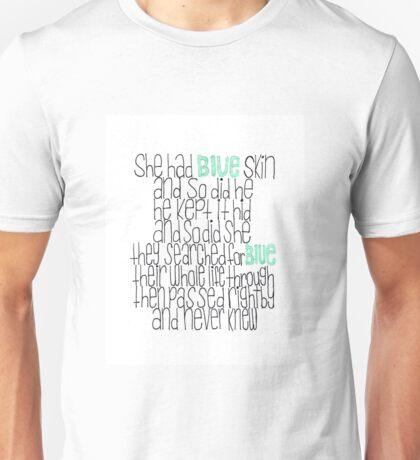 Blue Skin Unisex T-Shirt