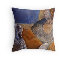 young girl 56 Throw Pillow