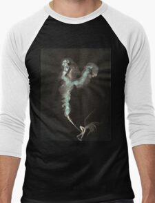 0003 - Brush and Ink - Cut Men's Baseball ¾ T-Shirt