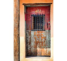 Santa Fe Weathered Entry Photographic Print