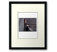 Get Smart Bad Guy Framed Print