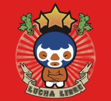 Lucha Libre One Piece - Short Sleeve