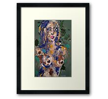 Recycled Woman Framed Print