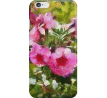Bunch of blooming flowers iPhone Case/Skin