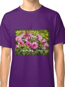 Bunch of blooming flowers Classic T-Shirt