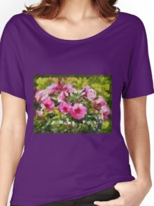 Bunch of blooming flowers Women's Relaxed Fit T-Shirt