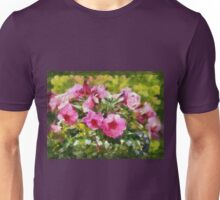 Bunch of blooming flowers Unisex T-Shirt