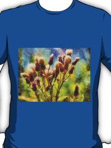 Bunch of flowers under a shining sun T-Shirt