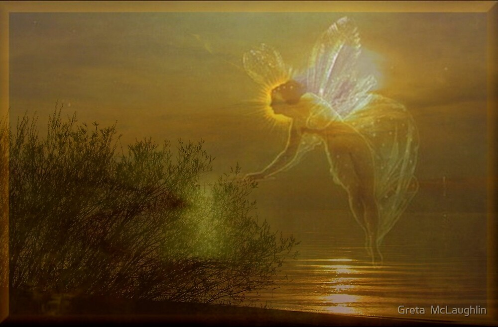 Lake Huron Fairy by Greta  McLaughlin