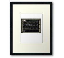 Goldeneye N64 Level Select Framed Print