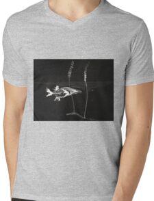0008 - Brush and Ink - Koi Mens V-Neck T-Shirt