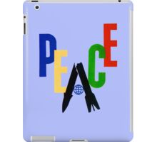 World Peace. iPad Case/Skin