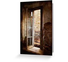 A Window to the Outside? Greeting Card