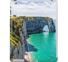 Etretat cliffs iPad Case/Skin