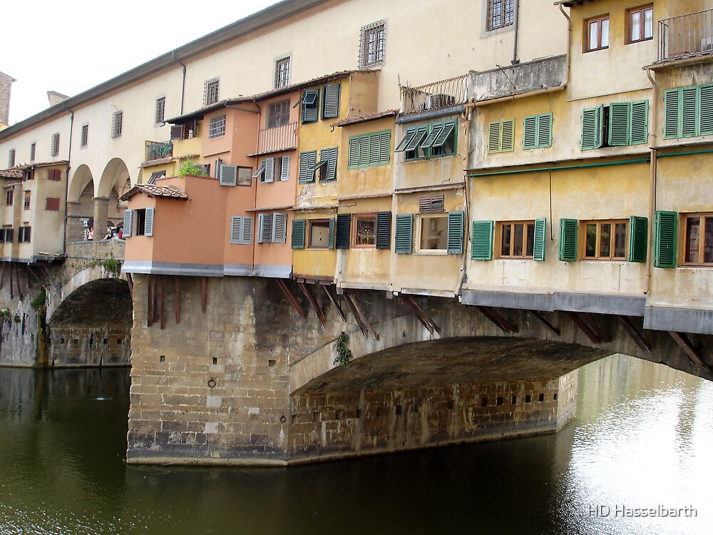 Ponte Vecchio - Florence by HD Hasselbarth