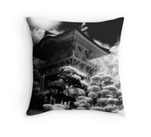 Abstract Tea House Throw Pillow