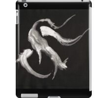 0009 - Brush and Ink - Kot iPad Case/Skin
