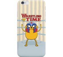 Wrestling Time iPhone Case/Skin