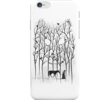 Jon Snow and Ghost Amongst Crows iPhone Case/Skin