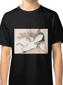 0011 - Brush and Ink - Left Classic T-Shirt
