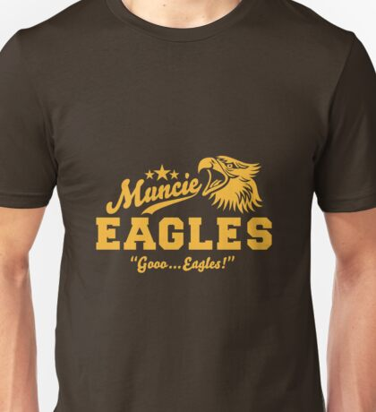 Muncie Eagles / Go ... Eagles! Baseball Shirt Unisex T-Shirt
