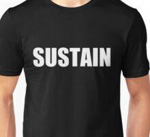 Sustain White Unisex T-Shirt