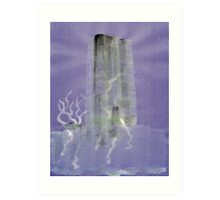0012 - Brush and Ink - Monolith Art Print