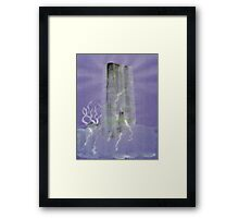 0012 - Brush and Ink - Monolith Framed Print