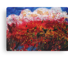 Wildflower Storm  Canvas Print