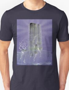 0012 - Brush and Ink - Monolith Unisex T-Shirt