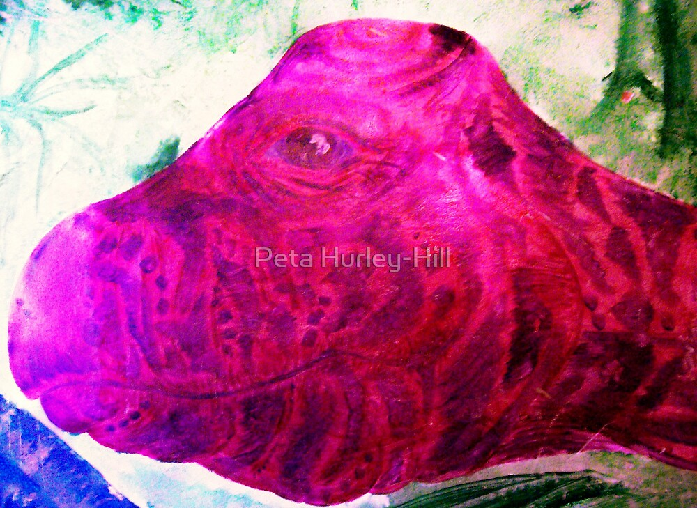 brachiosaur by Peta Hurley-Hill