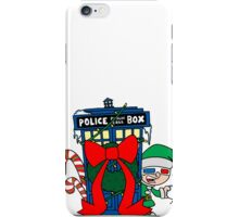 Snowball Fight with the Doctor! iPhone Case/Skin