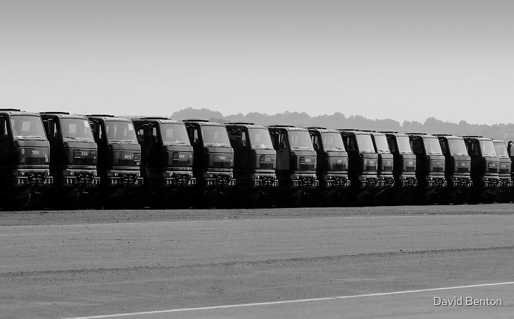 Truck parade by David Benton