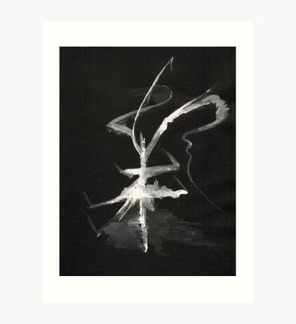 0013 - Brush and Ink - Sigil Art Print