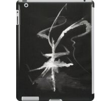 0013 - Brush and Ink - Sigil iPad Case/Skin