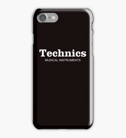 Technics Musical Instruments iPhone Case/Skin