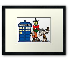 Raggedy-man Christmas! Framed Print