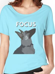 German Shepherd Focus Women's Relaxed Fit T-Shirt