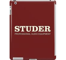 Studer Professional Audio Equipment iPad Case/Skin