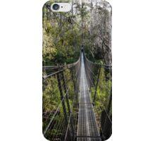 Tahune Suspension Bridge, Tasmania iPhone Case/Skin