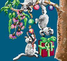 Happy Christmas, Possums! by goanna