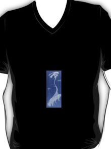0017 - Brush and Ink - TreeAndBirds T-Shirt
