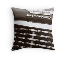 Supercharged Throw Pillow